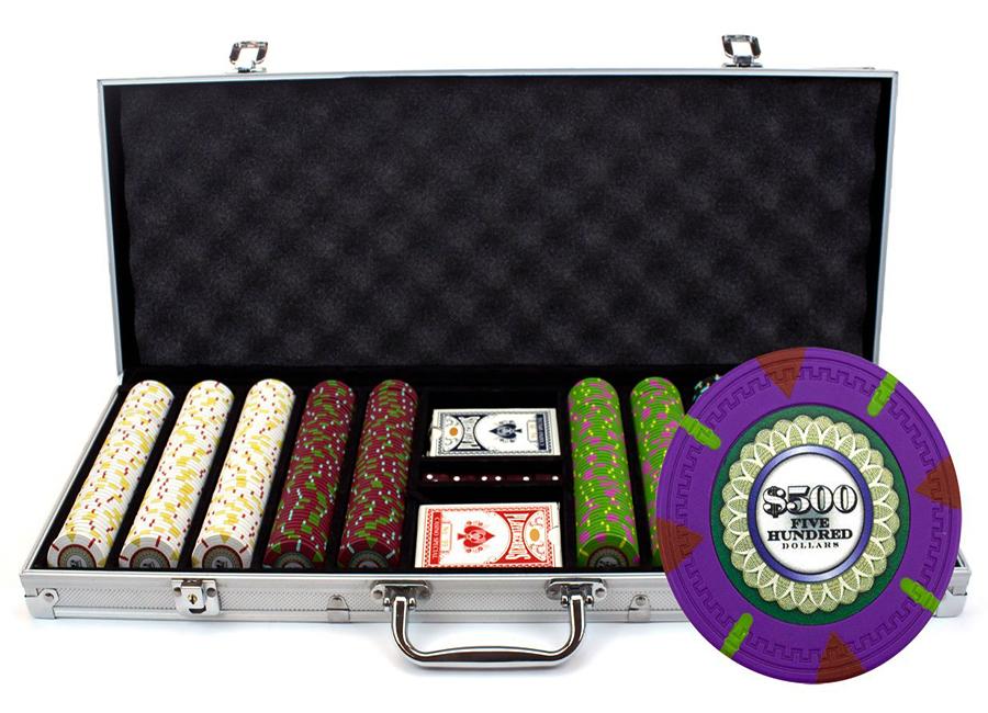 Deluxe grand poker set